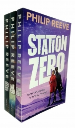 Philip Reeve Railhead Series Collection 3 Books Set (Station Zero, Blacklight Express, Railhead) Photo