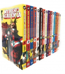 Kohei Horikoshi My Hero Academia Collection Series 15 Books Set (1-15) Photo