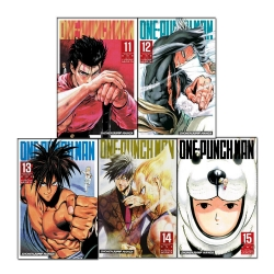 One-Punch Man Volume 11-15 Collection 5 Books Set - Series 3 Photo