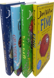David Walliams 4 Books Set Collection (Fing, Bad Dad, Ice Monster, Grandpas Great Escape) Photo