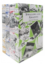 Swallows and Amazons Series Collection 4 Books Set (Winter Holiday, Peter Duck, Swallowdale, Swallows and Amazons) Photo