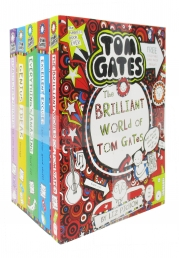 Tom Gates Series Collection 5 Books (The Brilliant World, Excellent Excuses, Everything's Amazing, Genius Ideas, Is Absolutely Fantastic) Photo