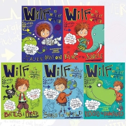 Wilf The Mighty Worrier Collection 5 Books Set Photo