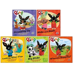 Bing As Seen On TV - Bing 5 Children Story Books Collection Pack Set Photo