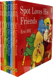 Spot Story Collection 8 Books Set Pack by Eric Hill Photo