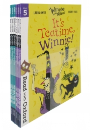 Read With Oxford Winnie and Wilbur (Stage 5 & 6) 6 Books Set Photo