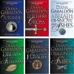 Outlander Series Diana Gabaldon Collection 6 Books Set Photo
