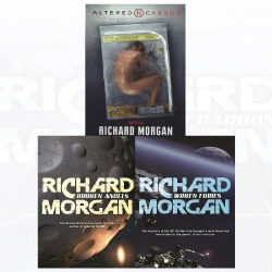 Netflix Altered Carbon Series 3 Books Collection Set - Altered Carbon, Woken Furies, Broken Angels by Richard Morgan