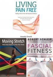 Fascial Fitness, Moving Stretch, Living Pain 3 Books Collection Set Photo