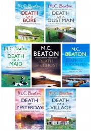 M.C. Beaton Hamish Macbeth Murder Mystery Series 3 Collection 7 Books Set Photo