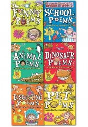 Scholastic Six Poems Books Set for Childrens (Over 500 Fun Poems to Learn and Perform) by Jennifer Curry, Jan Dean and Paul Cookson