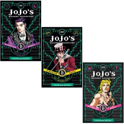 JoJos Bizarre Adventure Phantom Blood Part 1 - 3 Books Photo