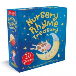 Nursery Rhyme Treasury 20 Books Collection Box Set: Over 180 Rhymes and poems to share Photo