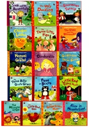 Ladybird First Favourite Tales 16 Picture Books Collection Set by Nicola Baxter