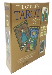 The Golden Tarot Deck Cards Collection Box Gift Set Photo