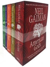 Neil Gaiman American Gods 5 Books Collection Set Photo