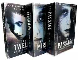 Justin Cronin The Passage Trilogy 3 Books Collection Set by Justin Cronin
