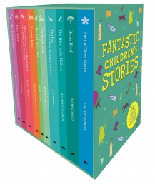 Fantastic Childrens Classic Stories 10 Books Slipcase Collection Set with a Fantastic Pullout Wallchart Photo
