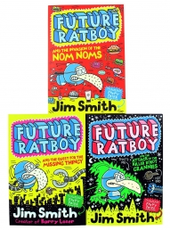 Future Ratboy Series 3 Books Collection Set For Childrens Photo