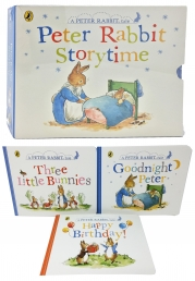 Peter Rabbit Story Time 3 Books Collection Box Set Photo