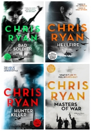 Chris Ryan Danny Black Thriller 4 Books Collection Set Photo