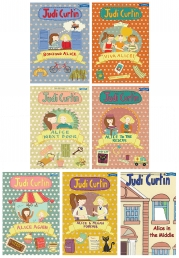 Judi Curtin Alice and Megan Series 7 Books Collection Set Photo