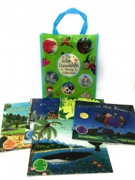 Julia Donaldson Story Collection 10 Books Set in a Bag Photo