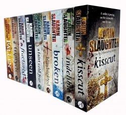 Karin Slaughter Will Trent and Trent County 9 Books Collection Set Photo