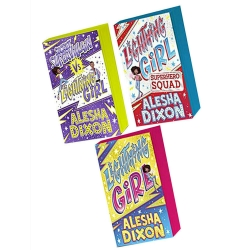 Alesha Dixon Lightning Girl 3 Books Collection Set Lightning Girl, Lightning Girl vs Secret Supervillain, Lightning Girl Superhero Squad by Alesha Dixon