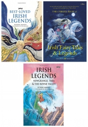 Irish Legends 3 Books Collection Set Photo