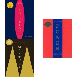 Robert Greene The Concise Series 3 books collection (The concise Mastery,The Consice Art Of Seduction,The Concise 48 Laws of Power) by Robert Greeene