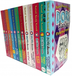 Dork Diaries Rachel Renee Russell Collection 12 Books Set
