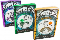 Laura Ellen Anderson Amelia Fang Series 3 Books Collection Set (The Memory Thief, The Unicorn Lords, The Barbaric Ball) by Laura Ellen Anderson