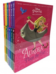 Disney Princess Beginnings 6 Books Collection Set Pack Photo
