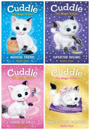 Hayley Daze Cuddle The Magic Kitten 4 Books Collection Set by Hayley Daze