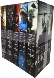 The Demon Cycle Series Peter V. Brett Collection 5 Books Set Photo