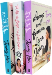 Jenny Han To All The Boys Complete Collection 3 Books Set Collection (All The Boys I've Loved Before, Always and Forever, I Still Love You) Photo