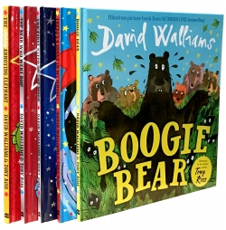 The David Walliams Board Book Collection 5 Books Set by David Walliams
