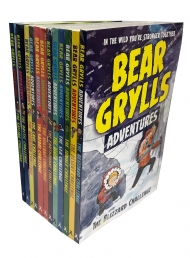Bear Grylls Adventure Collection 12 Books Set Photo
