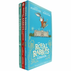 The Royal Rabbits of London 3 Books Collection Set Photo