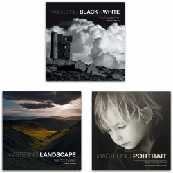 Mastering Photography 3 Books Collection Set (Landscape, Portrait, Black & White) Photo