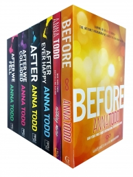 Anna Todd Before And After Series 6 Books Set Collection, Nothing More, After by Anna Todd