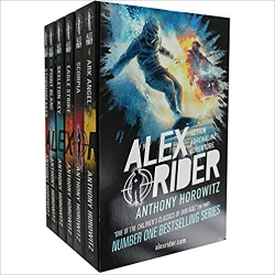 Anthony Horowitz Alex Rider 6 Books Collection Photo