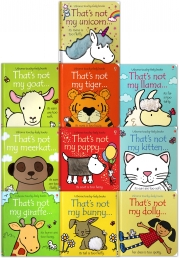 Thats Not My Toddlers 10 Books Collection Set Pack Fiona Watt Touchy-Feely Board Books Photo