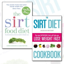 Sirtfood Diet Collection 2 Books Set - The Sirt Food Diet, The Sirt Diet Cookbook Photo