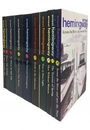 Arrow Classic Ernest Hemingway 10 Books Collection Set (Across the River, Torrents of Spring, Men without Women,True at First Light and More) by Ernest Hemingway