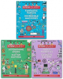 Stem Quest 3 Books Collection Set Photo