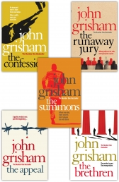 John Grisham 5 Books Collection Set - The Appeal, The Summons, The Runaway Jury, The Confession, The Brethren by John Grisham