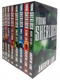 Andrew Lane Young Sherlock Holmes 8 Books Collection Set Photo