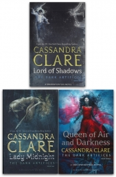 Cassandra Clare The Dark Artifices 3 Books Collection Set (Lady Midnight, Lord of Shadows, Queen of Air and Darkness) by Cassandra Clare